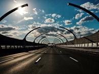 Южный участок Западного скоростного диаметра в Санкт-Петербурге