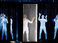 Сергей Лазарев выступает в полуфинале Евровидения