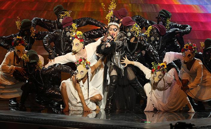 19 мая 2019. Выступление Мадонны на Евровидении