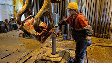 Строительство завода по сжижению природного газа на Ямале