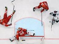 Хоккей. Чемпионат мира. Матч Россия - США