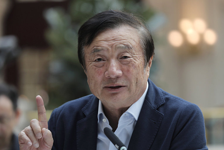 Китайский предприниматель Жэнь Чжэнфэй