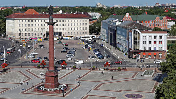 Калининград, площадь Победы