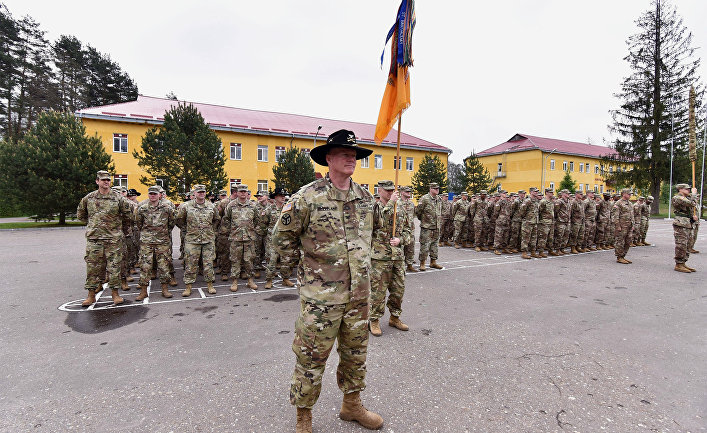 США провели ротацию подразделений по подготовке военнослужащих Украины