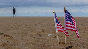 """Пляж """"Омаха"""", кодовое название одного из пяти секторов высадки союзников в Нормандии в ходе Второй мировой войны."""