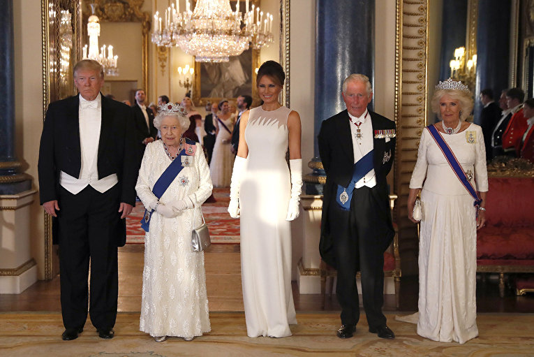 Государственный визит Дональда Трампа в Великобританию