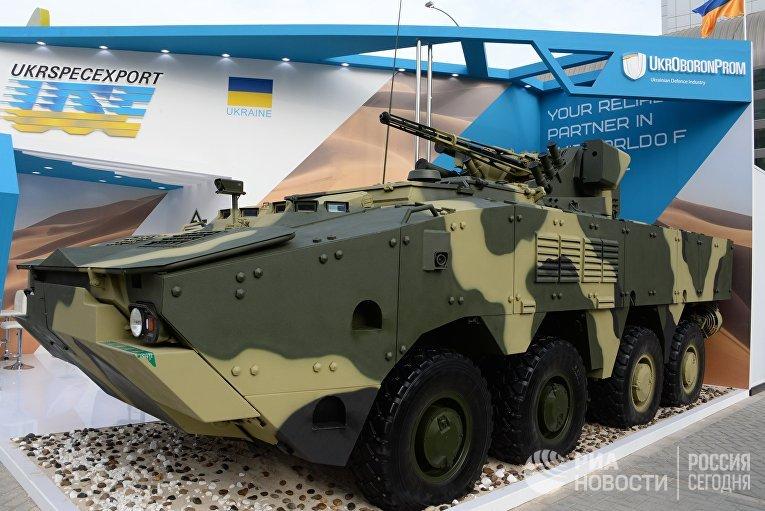 "Украинский бронетранспортер БТР-4 ""Буцефал"""