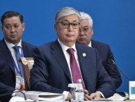 Касым-Жомарт Токаев на заседании Высшего Евразийского экономического совета