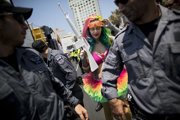 Активистка, выступающая за права ЛГБТ, на Ближнем Востоке
