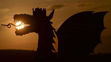 Символ Казани - дракон Зилант