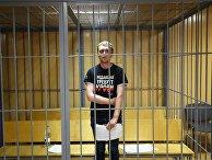 Журналист Иван Голунов на заседании Никулинского суда города Москвы