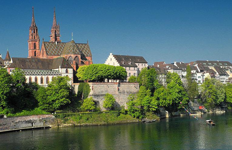 Разделенный рекой: Базель (Швейцария)