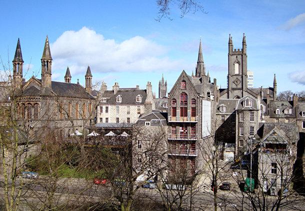 Пестрая смесь эксцентрики и шебби-шика: Абердин (Шотландия)