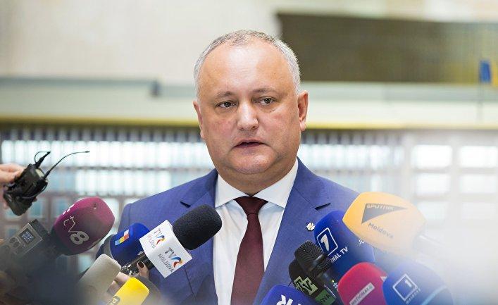 Заседание кабинета министров и парламента в Молдавии