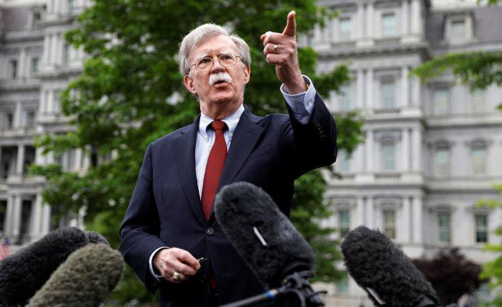 Советник по национальной безопасности США Джон Болтон