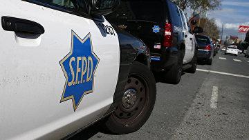 Полицейские автомобили в Сан-Франциско