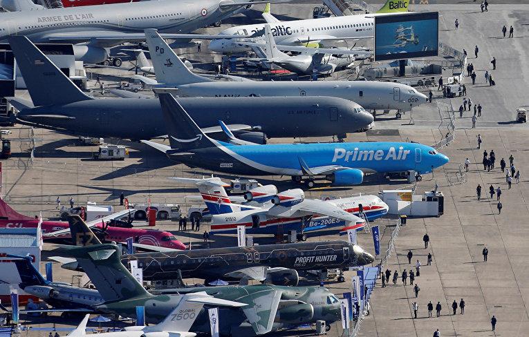 53-й Международный Парижский авиасалон в аэропорту Ле Бурже