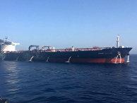Атака на танке в Оманском заливе