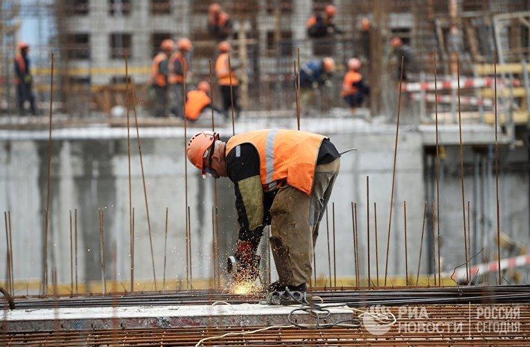 Строительство городского квартала