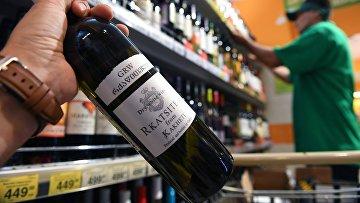 Роспотребнадзор усилил контроль за грузинским алкоголем