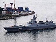 Отряд кораблей Северного флота прибыл во Владивосток