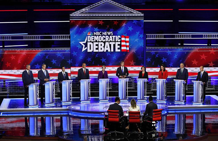Первые демократические дебаты президентской гонки - 2020