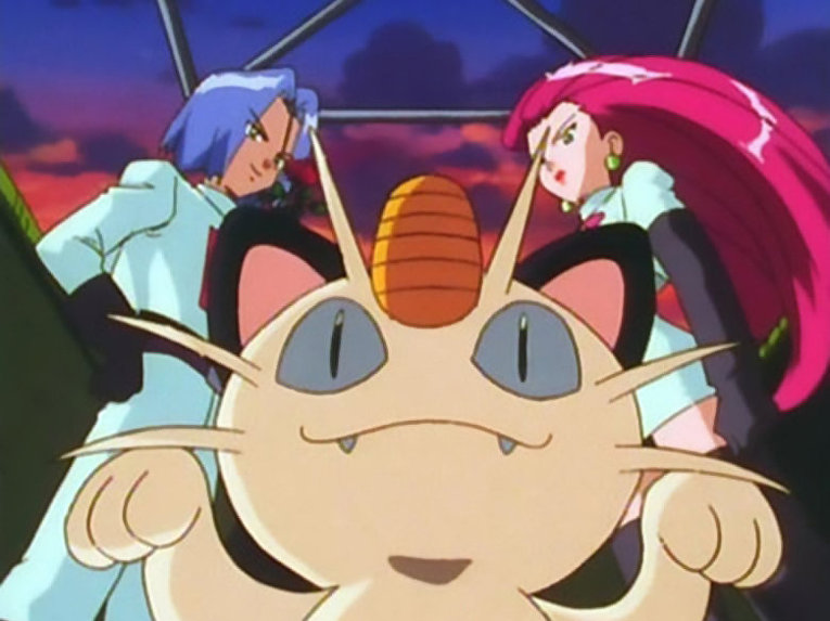 Кадр из аниме «Покемон»