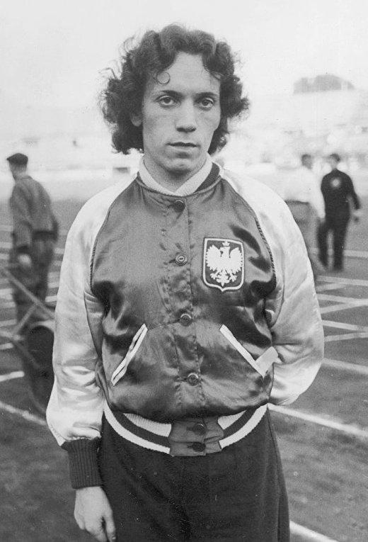 Польский легкоатлет Станислава Валасевич