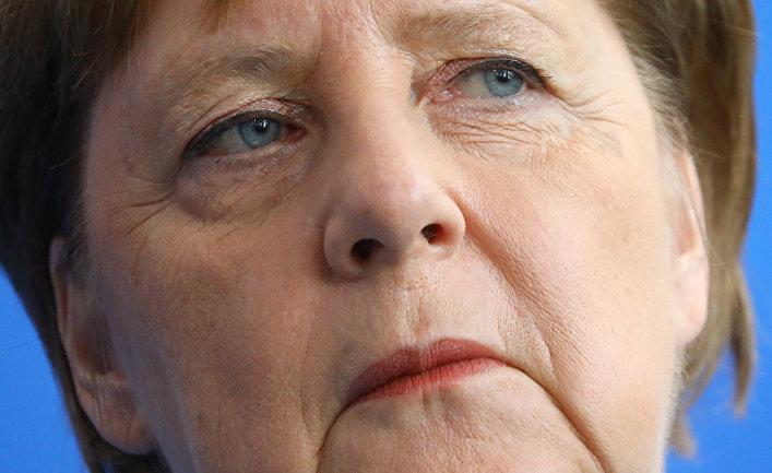 Ангела Меркель на встрече с новым премьер-министром Финляндии