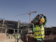 Строительные работы в Новой административной столице Египта в 45 км от Каира