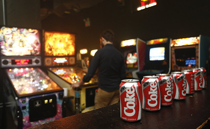 Америка 80-х: игральные автоматы и Кока-кола