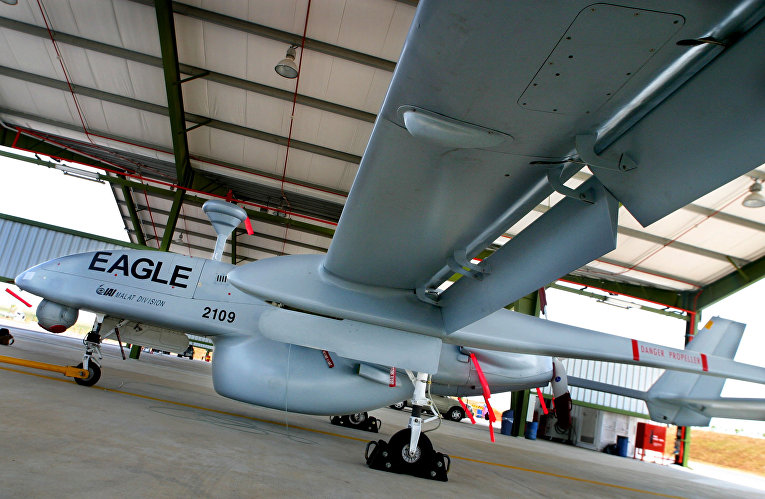 Израильский беспилотник IAI-Malat-EADS Eagle