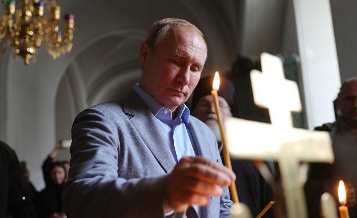 Президенты РФ и Белоруссии В. Путин и А. Лукашенко посетили Валаамский монастырь