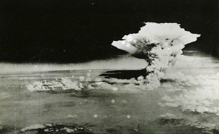 Борбардировка Хиросимы 6 августа 1945 года