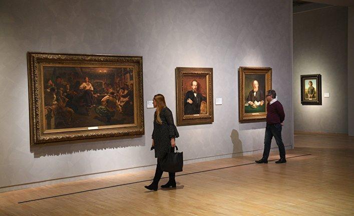 Выставка Ильи Репина в Третьяковской галерее