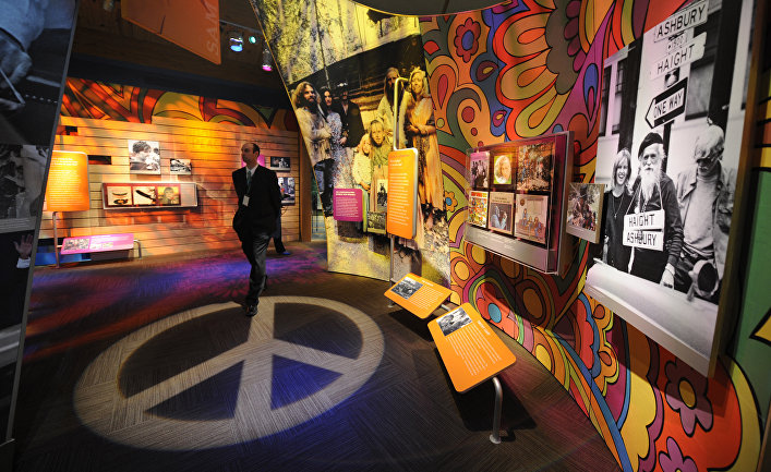 Музей Вудстока и шестидесятых в Бетеле, США