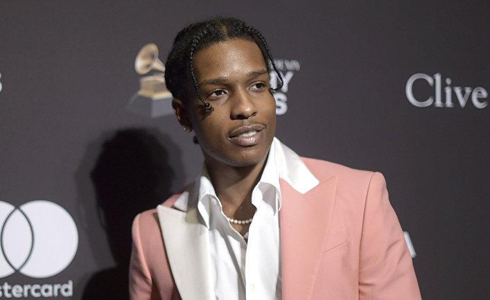 Американский исполнитель A$AP Rocky