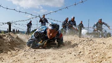 Морские пехотинцы из Китая принимают участие в Международных армейских играх
