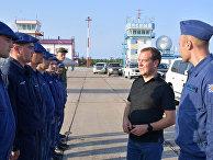 Рабочая поездка премьер-министра РФ Д. Медведева в Сахалинскую область. День второй