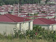 Жизнь в поселках беженцев на территории Грузии