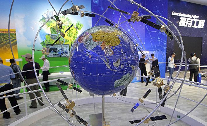 Модель китайской навигационной спутниковой системы«Бэйдоу»