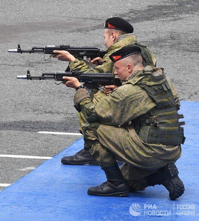 Генеральная репетиция парада ко дню ВМФ во Владивостоке