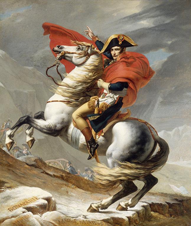 Портрет Наполеона I Бонапарта