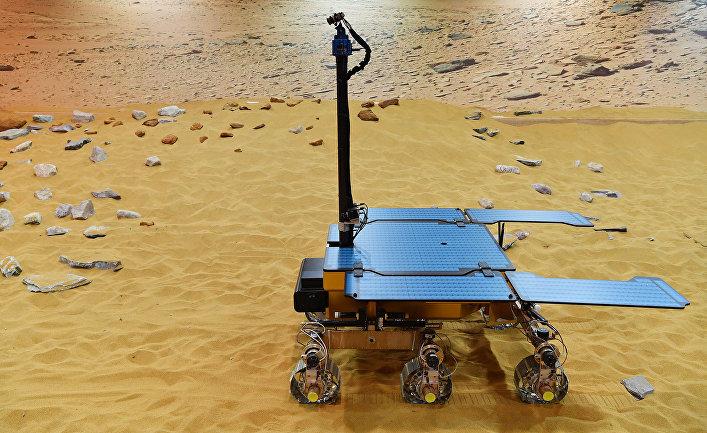 Рабочий прототип марсохода Rosalind Franklin ExoMars rover