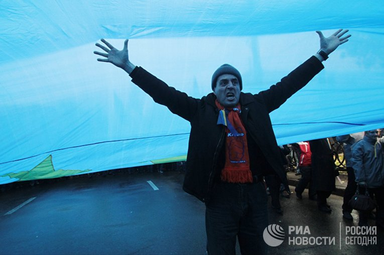 Митинг «За европейскую Украину» в Киеве