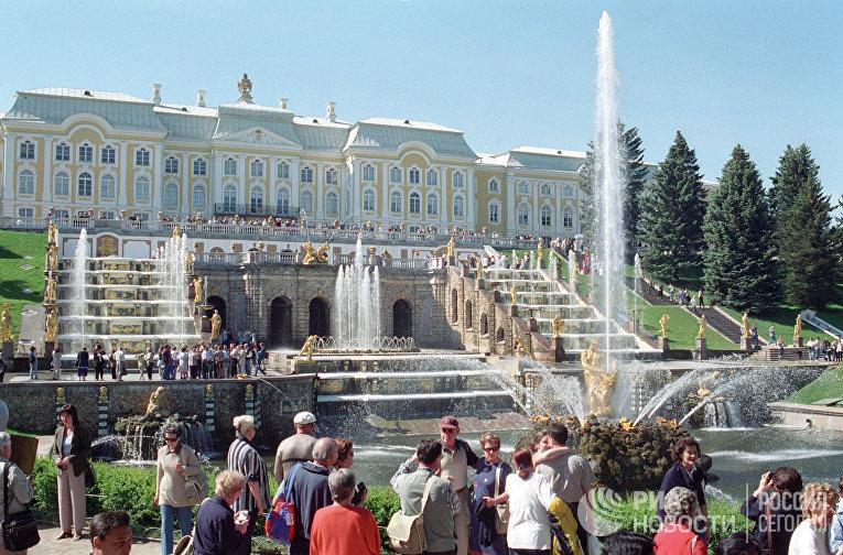 В Петродворце