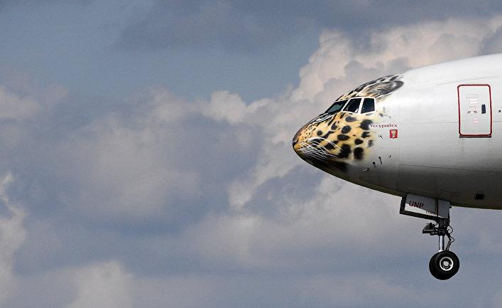 Российский пассажирский самолет