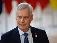 Премьер-министр Финляндии Антти Ринне