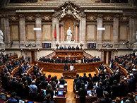 Члены португальского парламента в Лиссабоне