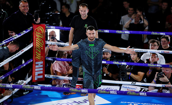 Украинский боксёр Василий Ломаченко